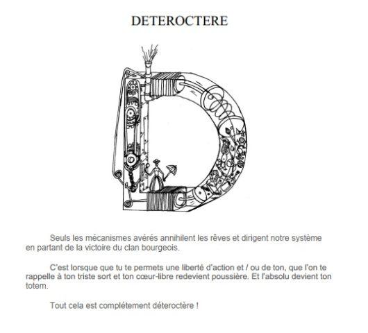 Détéroctere illustration description